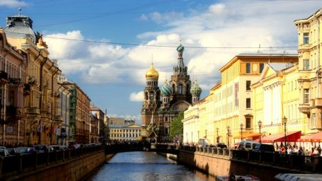 Планы на Майские: Петербург