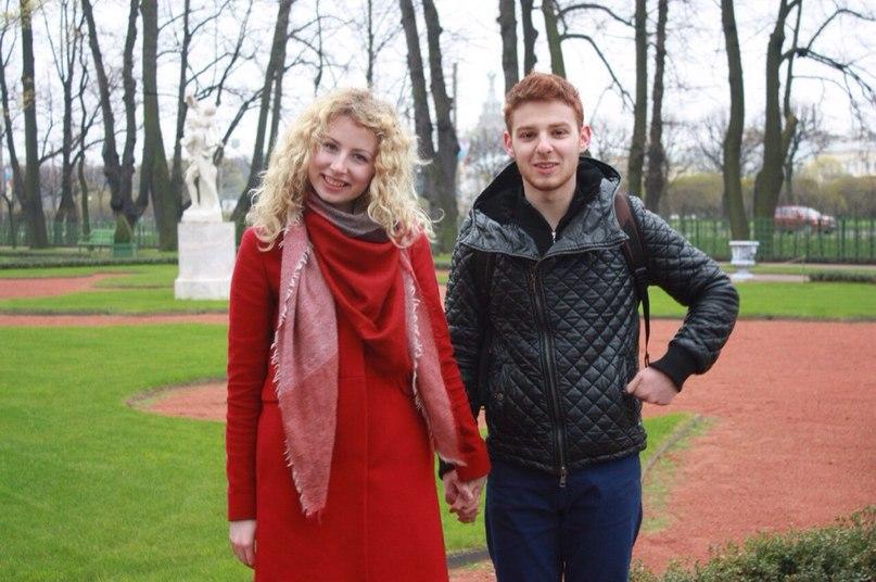 Алина Волошина и Эдуард Эпштейн