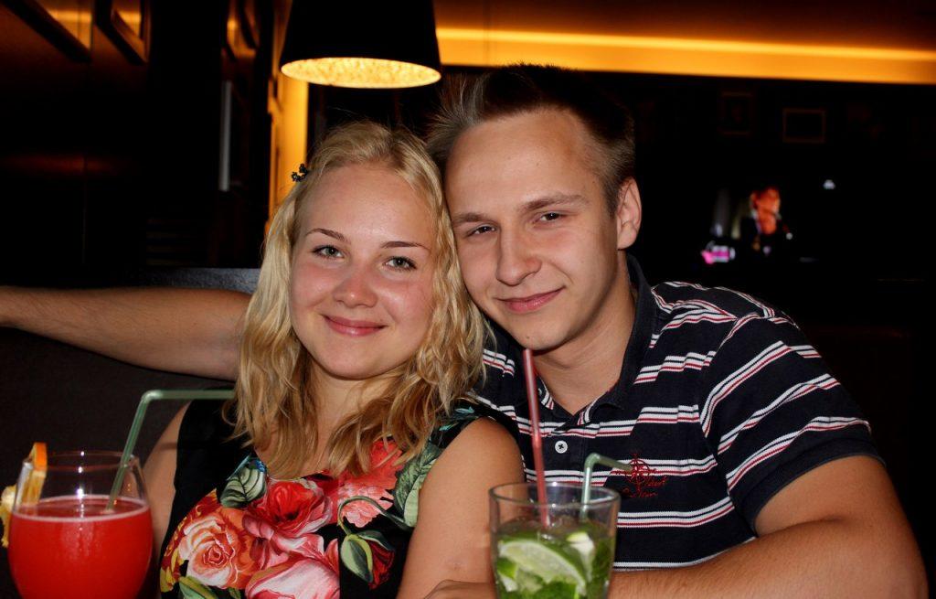 Ольга Астапенко и Антон Константинов