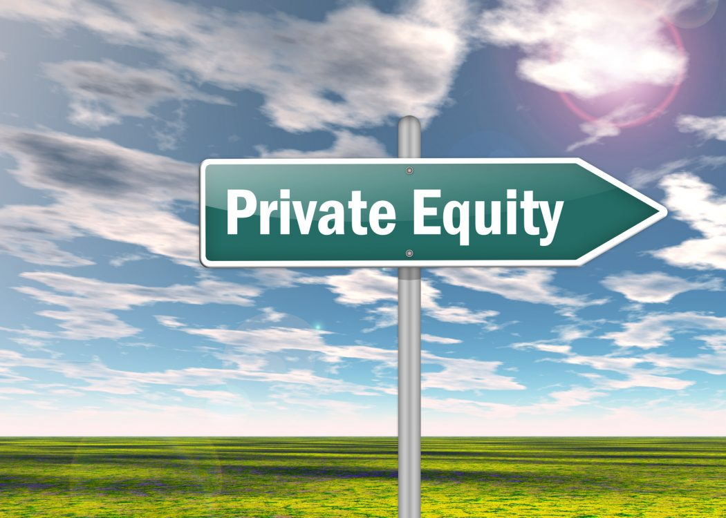 Signpost «Private Equity»