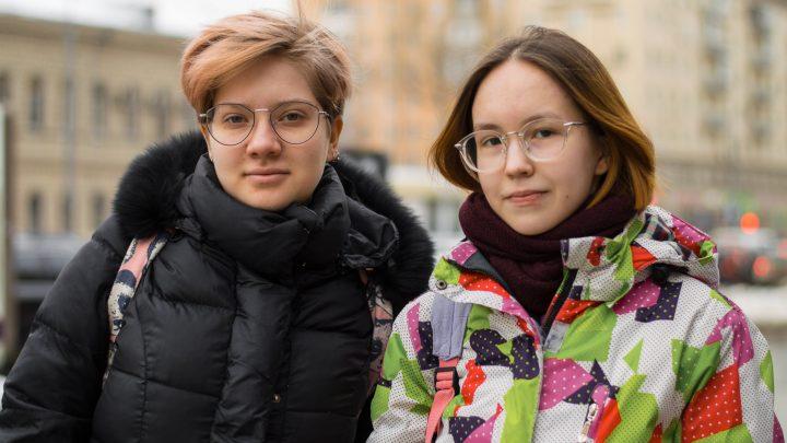 Анастасия Миконова и Лебеденко Дарья