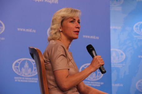 Мария Захарова на ток-шоу «В Точку! Персона»